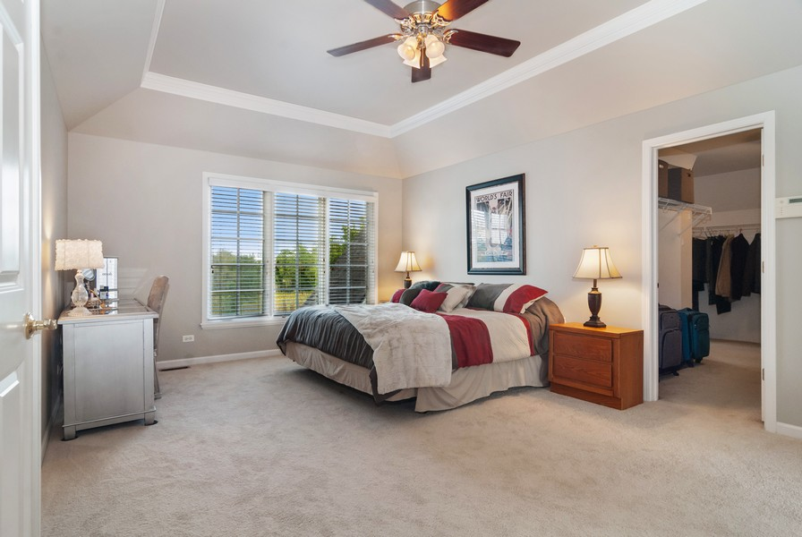 Real Estate Photography - 2538 Spring Green Way, Batavia, IL, 60510 - Master Bedroom