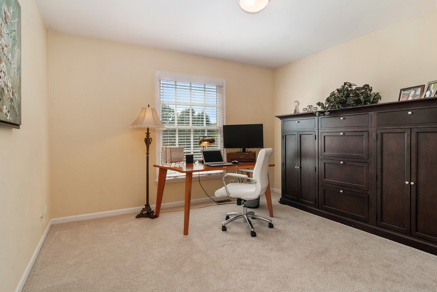 Real Estate Photography - 2538 Spring Green Way, Batavia, IL, 60510 - 2nd Bedroom