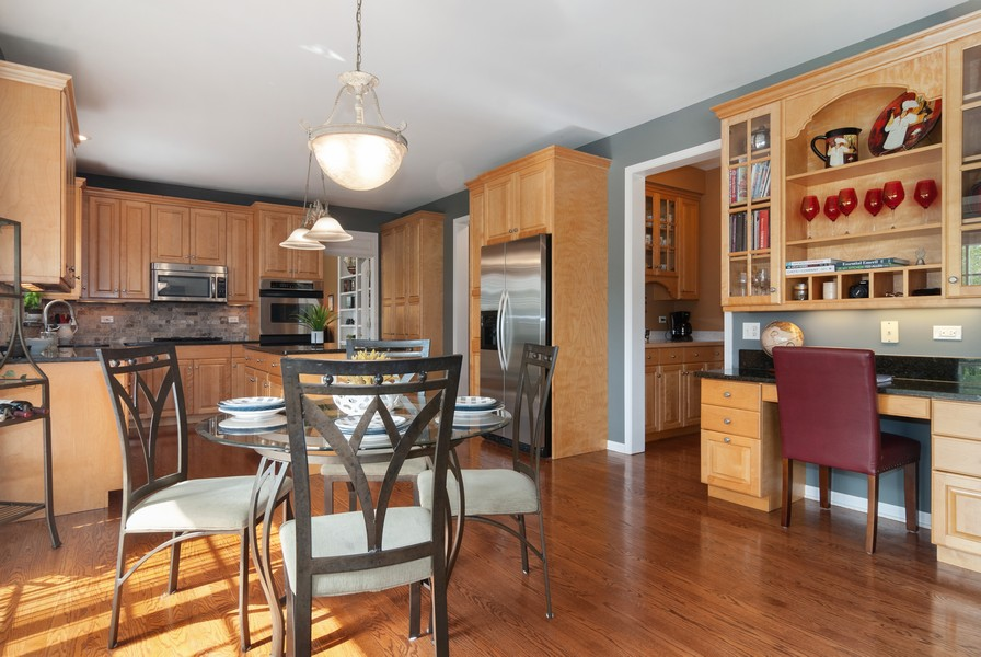 Real Estate Photography - 2538 Spring Green Way, Batavia, IL, 60510 - Kitchen / Breakfast Room
