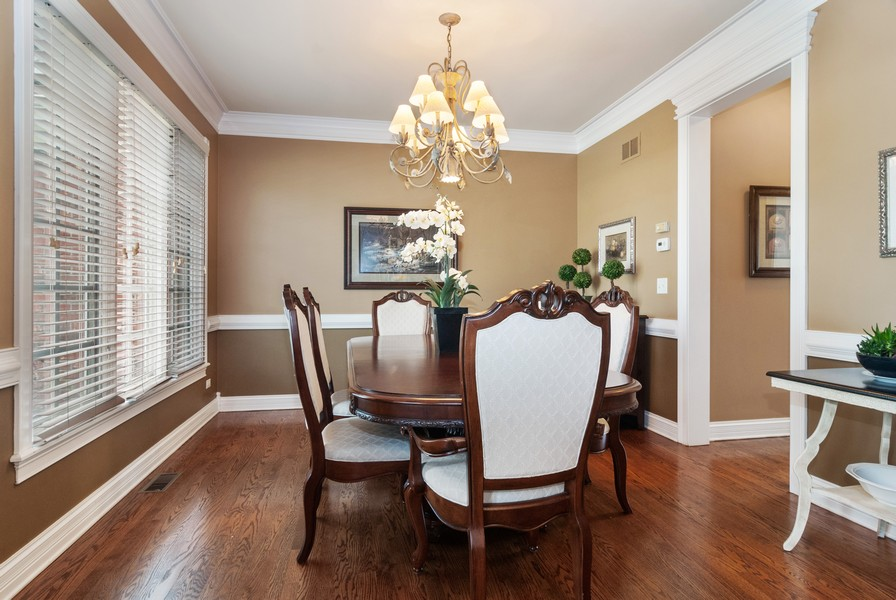 Real Estate Photography - 2538 Spring Green Way, Batavia, IL, 60510 - Dining Room