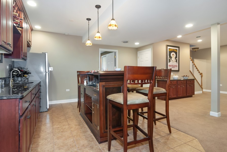 Real Estate Photography - 2538 Spring Green Way, Batavia, IL, 60510 - Basement