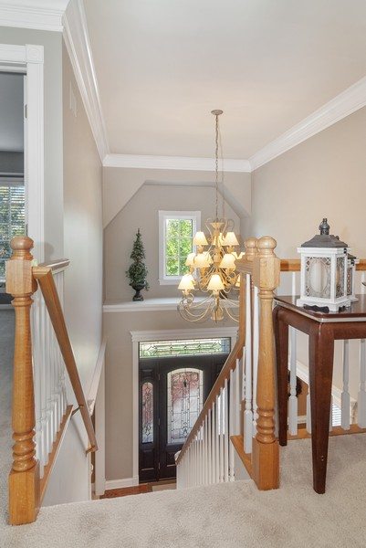 Real Estate Photography - 2538 Spring Green Way, Batavia, IL, 60510 - Foyer