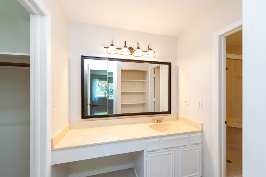 Real Estate Photography - 523 Woodview Rd, D, Lake Barrington, IL, 60010 - Bathroom