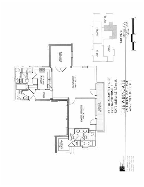 Real Estate Photography - 720 Green Bay Rd, 2E, Winnetka, IL, 60093 -