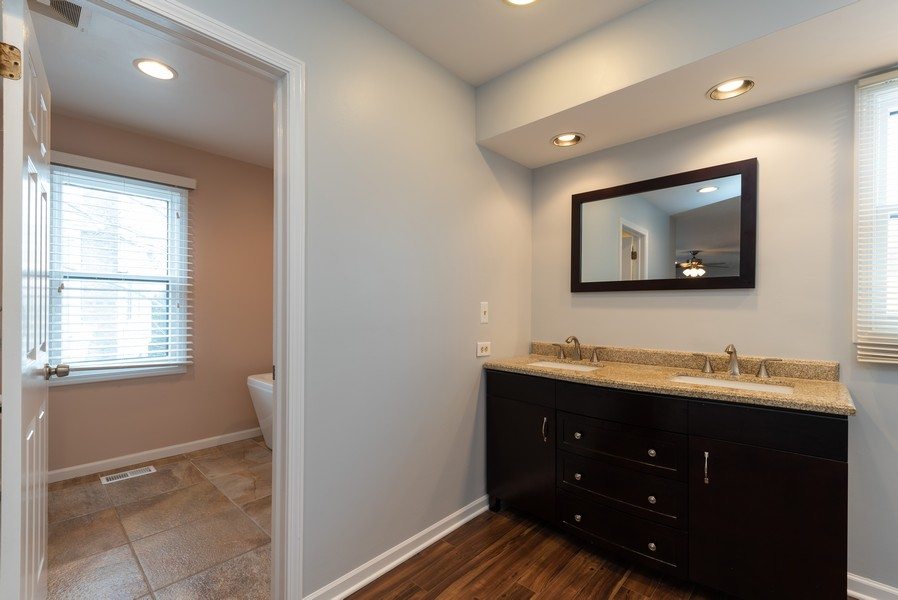 Real Estate Photography - 430 West Whitehall Dr, Arlington Heights, IL, 60004 - Master Bathroom