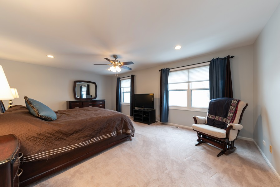 Real Estate Photography - 430 West Whitehall Dr, Arlington Heights, IL, 60004 - Master Bedroom