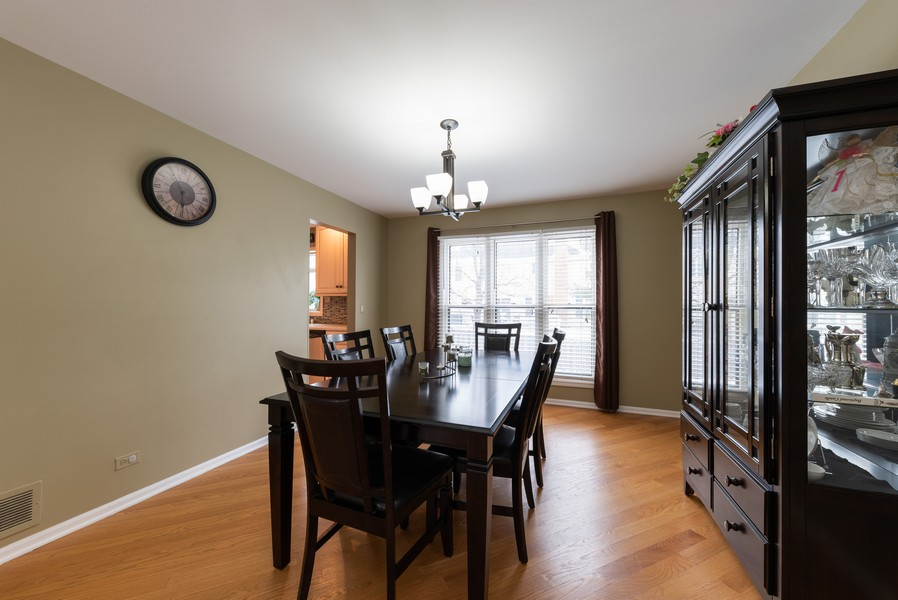 Real Estate Photography - 430 West Whitehall Dr, Arlington Heights, IL, 60004 - Dining Room