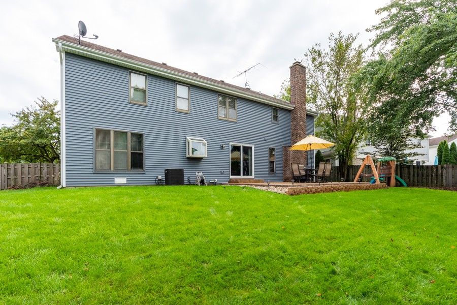 Real Estate Photography - 430 West Whitehall Dr, Arlington Heights, IL, 60004 - Rear View