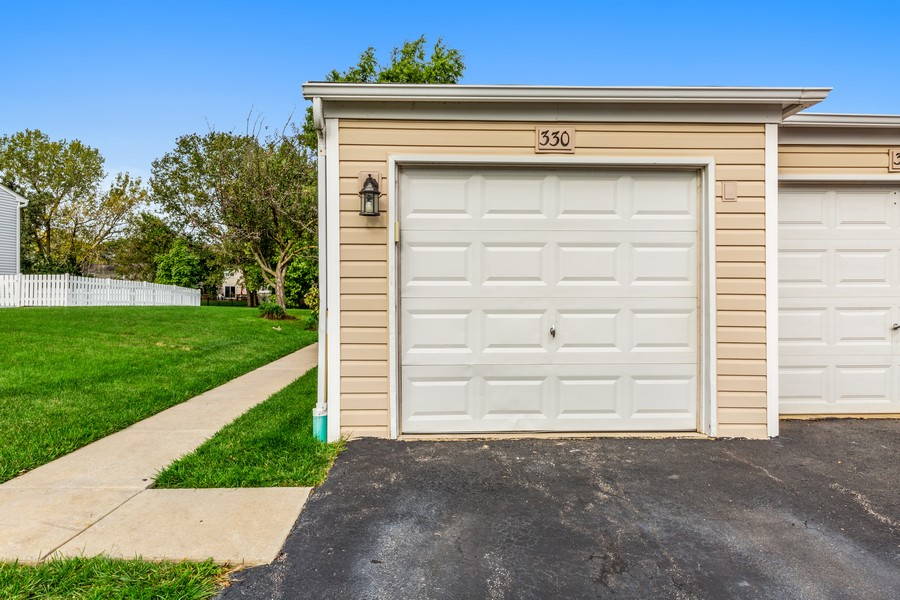 Real Estate Photography - 330 Rodenburg Rd, Roselle, IL, 60172 - Garage