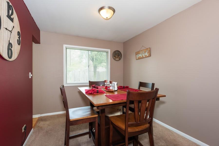 Real Estate Photography - 29W750 Hurlingham Dr, Warrenville, IL, 60555 - Dining Room