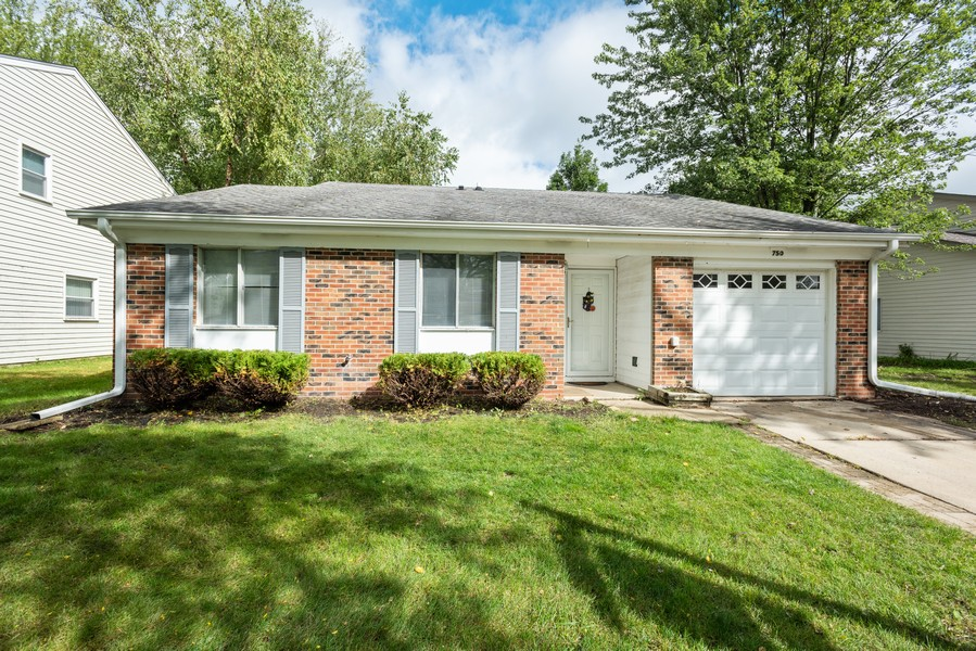 Real Estate Photography - 29W750 Hurlingham Dr, Warrenville, IL, 60555 - Front View