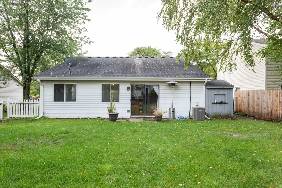 Real Estate Photography - 29W750 Hurlingham Dr, Warrenville, IL, 60555 - Rear View