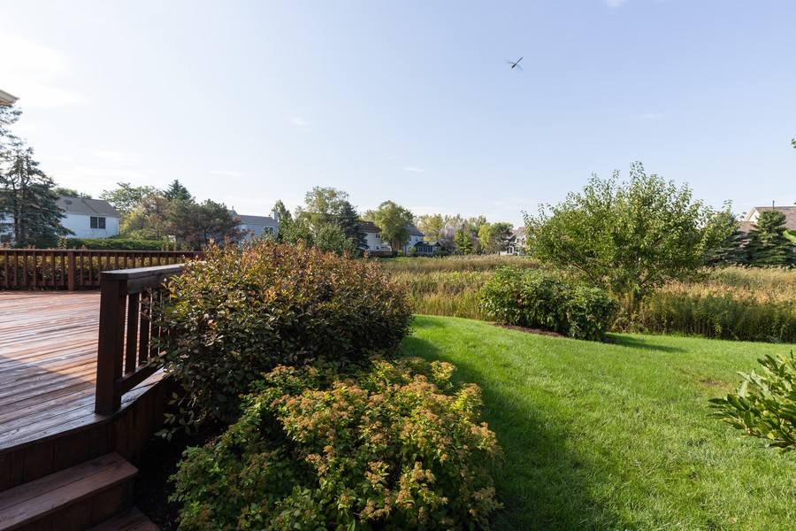 Real Estate Photography - 771 Wexford Ct, Grayslake, IL, 60030 - Back Yard