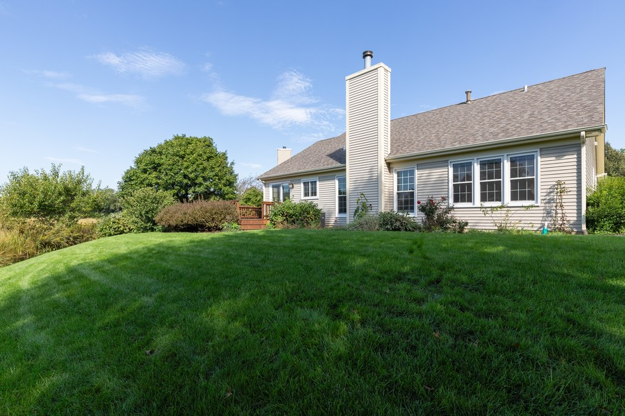 Real Estate Photography - 771 Wexford Ct, Grayslake, IL, 60030 - Rear View