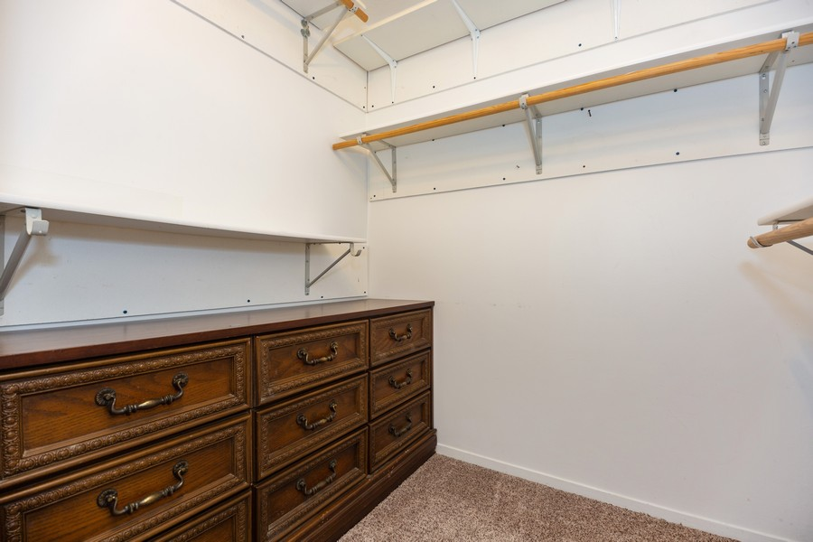Real Estate Photography - 812 North River Rd, 1C, Mount Prospect, IL, 60056 - Master Bedroom Closet