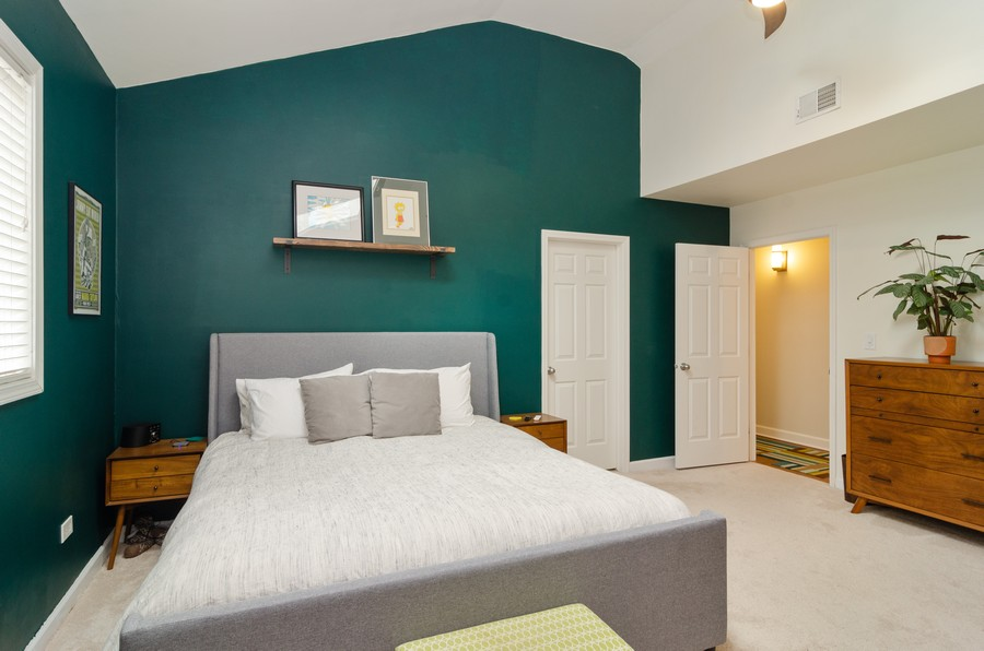 Real Estate Photography - 2303 West Chicago Ave, 4, Chicago, IL, 60622 - Master Bedroom