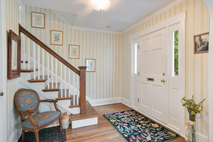 Real Estate Photography - 2522 Isabella St, Evanston, IL, 60201 - Foyer