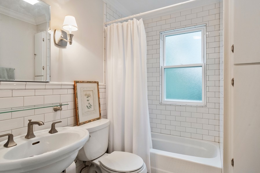 Real Estate Photography - 2522 Isabella St, Evanston, IL, 60201 - Bathroom