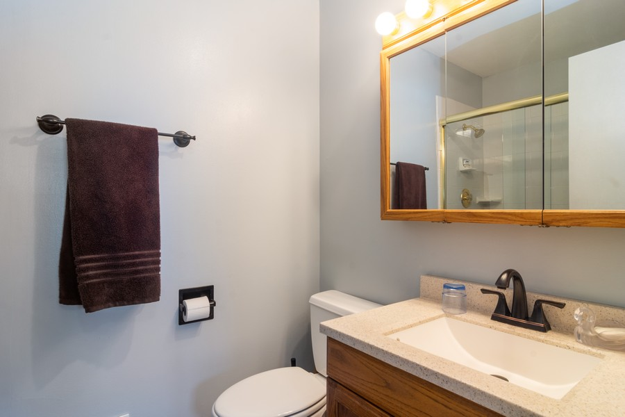 Real Estate Photography - 12 West Appletree Ln, Arlington Heights, IL, 60004 - Master Bathroom