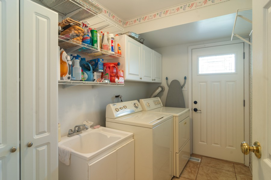 Real Estate Photography - 12 West Appletree Ln, Arlington Heights, IL, 60004 - Laundry Room