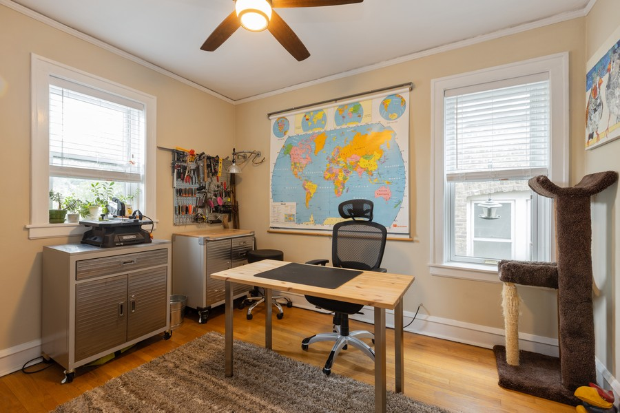 Real Estate Photography - 2640 West Fargo Ave, UNIT2, Chicago, IL, 60645 - 2nd Bedroom