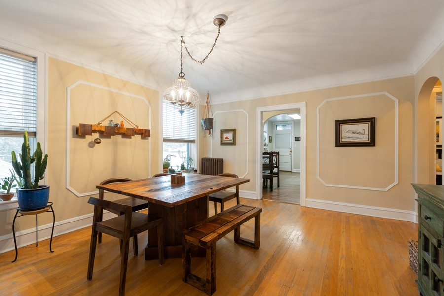 Real Estate Photography - 2640 West Fargo Ave, UNIT2, Chicago, IL, 60645 - Dining Room