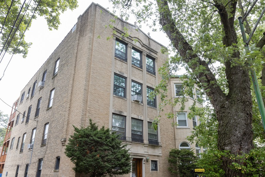 Real Estate Photography - 2640 West Fargo Ave, UNIT2, Chicago, IL, 60645 - Front View
