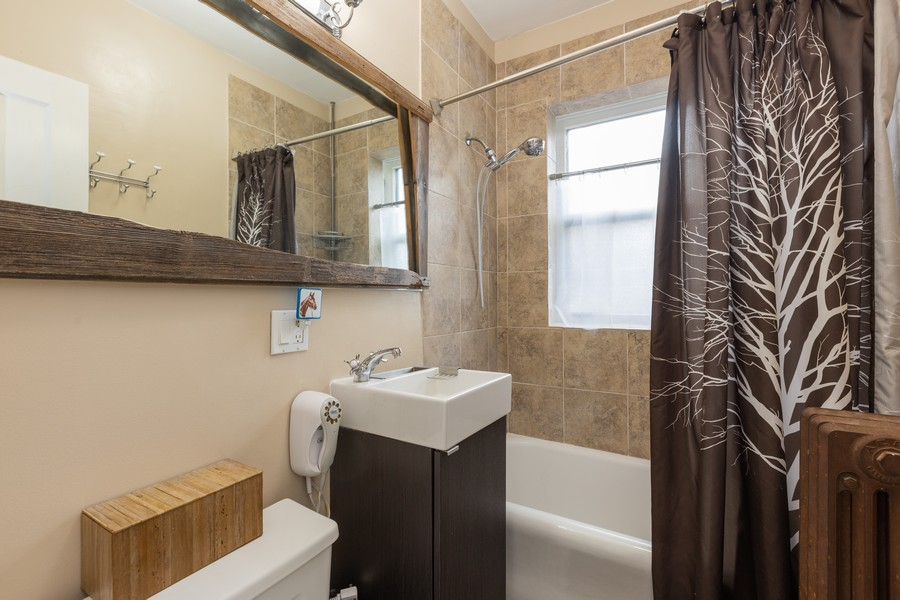 Real Estate Photography - 2640 West Fargo Ave, UNIT2, Chicago, IL, 60645 - Bathroom