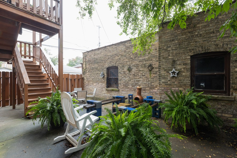 Real Estate Photography - 2640 West Fargo Ave, UNIT2, Chicago, IL, 60645 - Patio