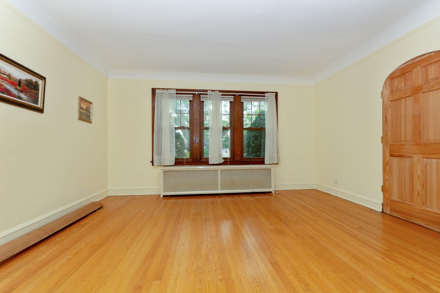 Real Estate Photography - 6351 South Karlov Ave, Chicago, IL, 60629 - Living Room