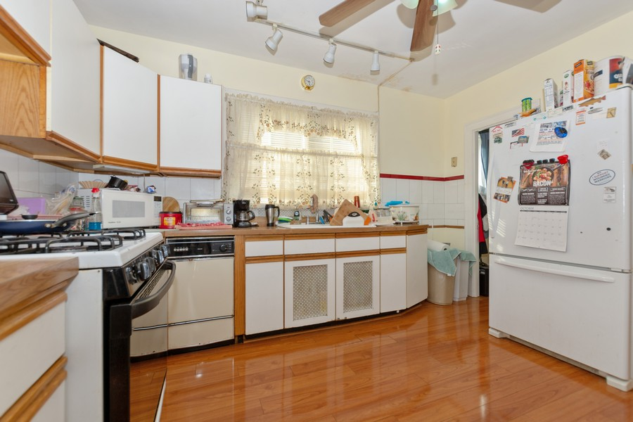 Real Estate Photography - 6351 South Karlov Ave, Chicago, IL, 60629 - Kitchen