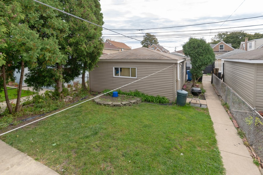 Real Estate Photography - 6351 South Karlov Ave, Chicago, IL, 60629 - Back Yard