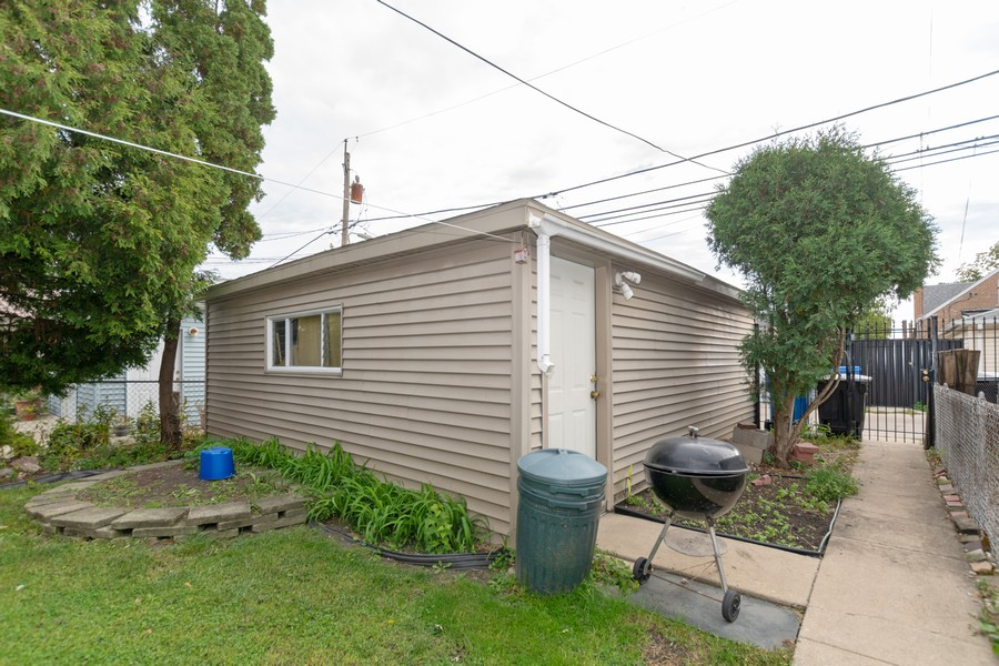 Real Estate Photography - 6351 South Karlov Ave, Chicago, IL, 60629 - Garage