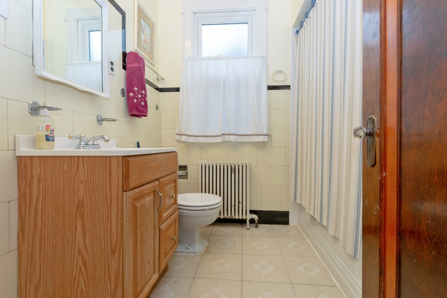 Real Estate Photography - 6351 South Karlov Ave, Chicago, IL, 60629 - Bathroom