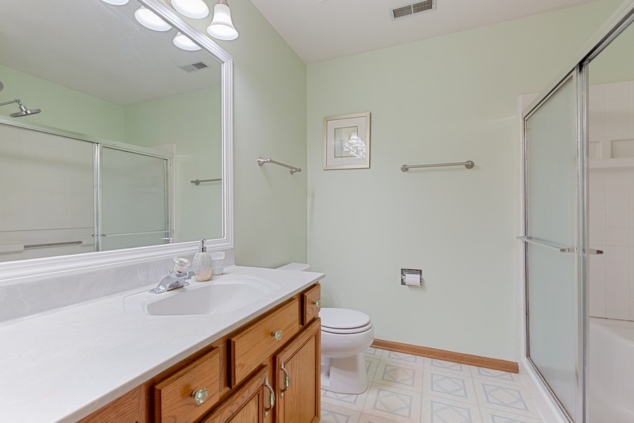 Real Estate Photography - 203 Heritage Trl, Hainesville, IL, 60030 - Master Bathroom