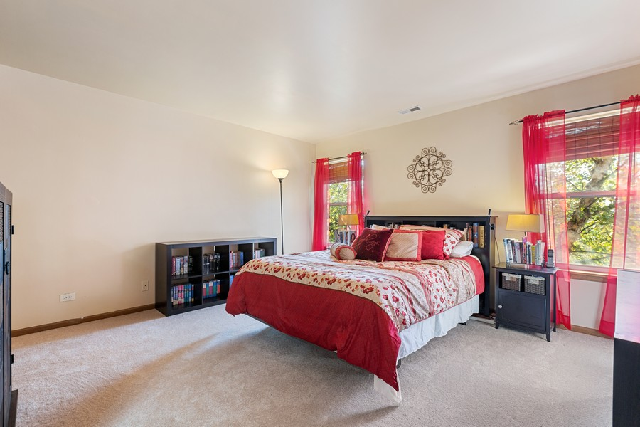Real Estate Photography - 203 Heritage Trl, Hainesville, IL, 60030 - Master Bedroom