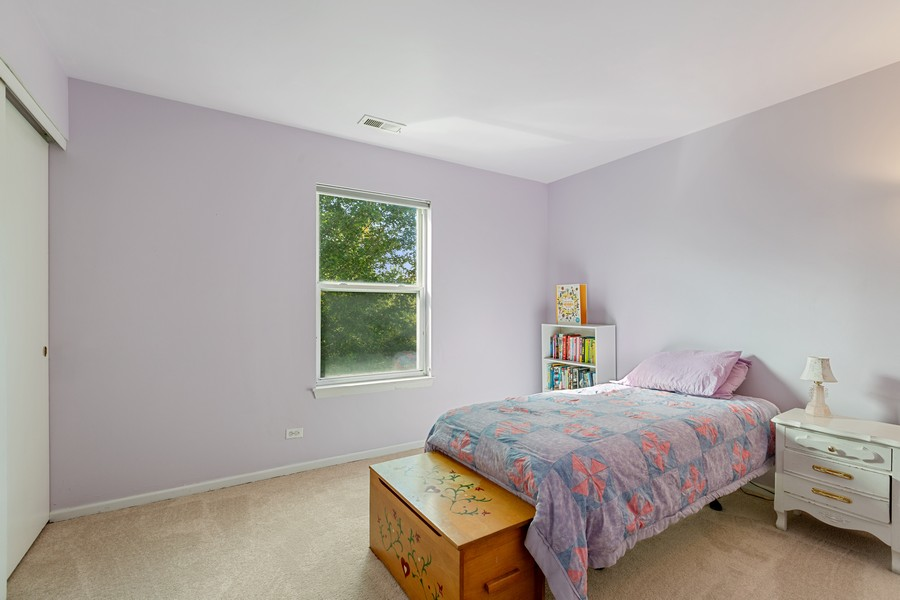 Real Estate Photography - 203 Heritage Trl, Hainesville, IL, 60030 - 2nd Bedroom
