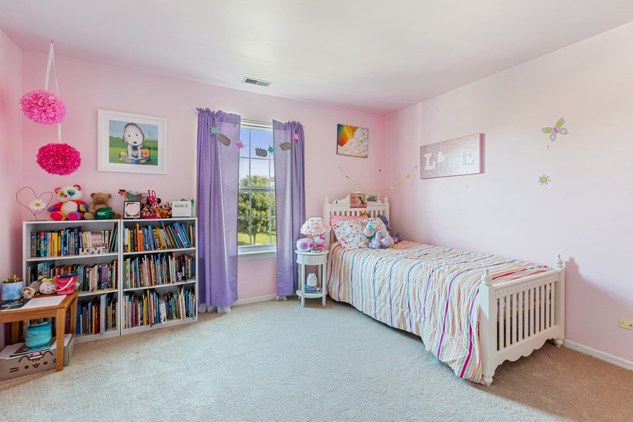 Real Estate Photography - 203 Heritage Trl, Hainesville, IL, 60030 - 4th Bedroom