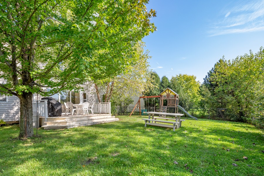 Real Estate Photography - 203 Heritage Trl, Hainesville, IL, 60030 - Back Yard