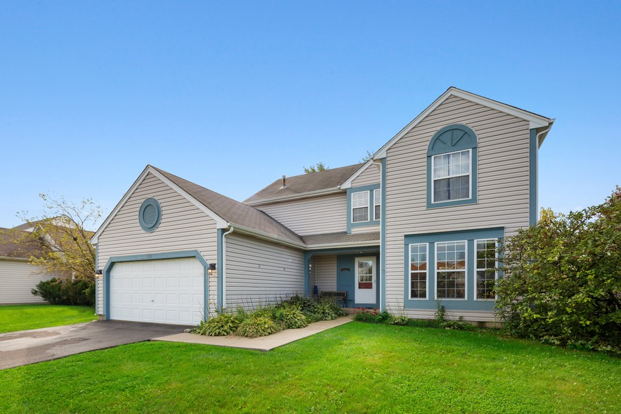 Real Estate Photography - 203 Heritage Trl, Hainesville, IL, 60030 - Side View