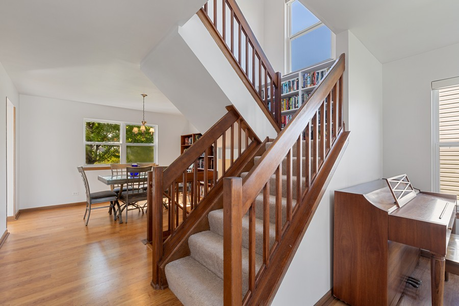 Real Estate Photography - 203 Heritage Trl, Hainesville, IL, 60030 - Staircase