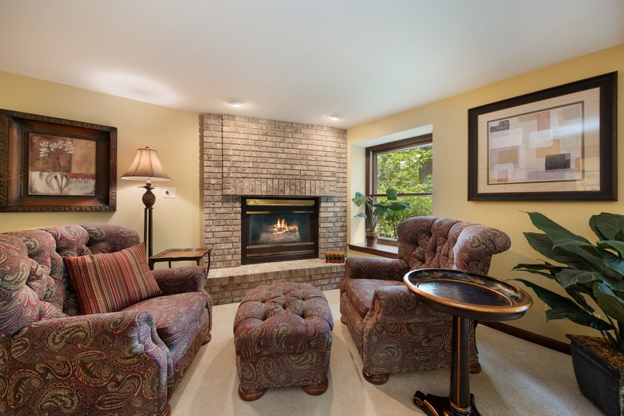 Real Estate Photography - 376 River Bluff Cir, Naperville, IL, 60540 - Lower Level