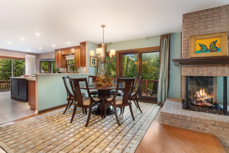 Real Estate Photography - 376 River Bluff Cir, Naperville, IL, 60540 - Dining Room