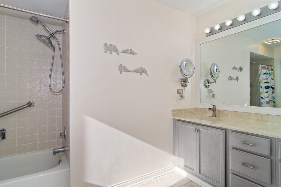 Real Estate Photography - 1844 Golf View Dr, Bartlett, IL, 60103 - Master Bathroom