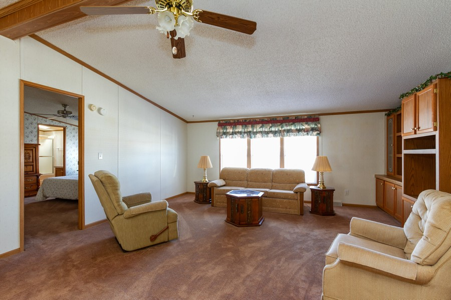 Real Estate Photography - 25752 Scioto St, Monee, IL, 60449 - Living Room