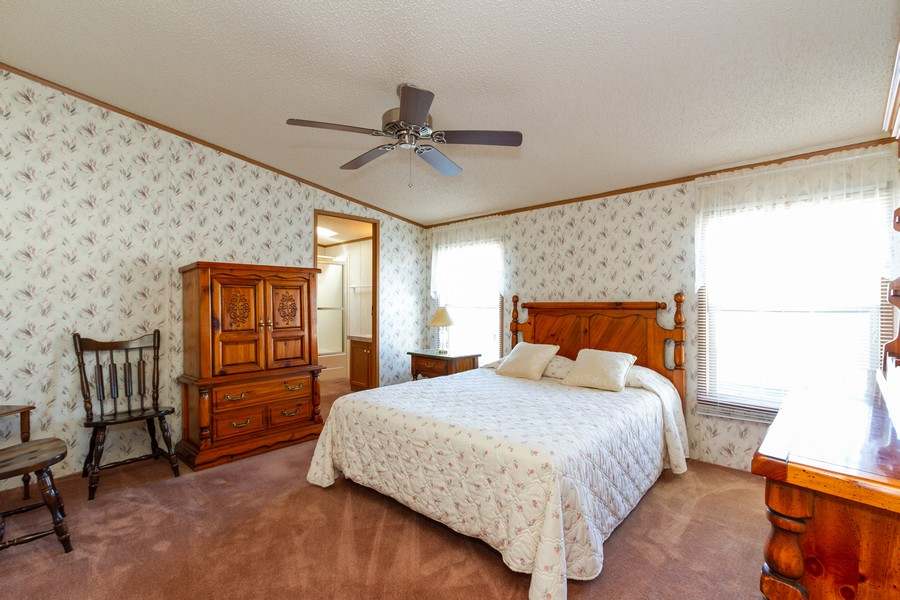 Real Estate Photography - 25752 Scioto St, Monee, IL, 60449 - Master Bedroom