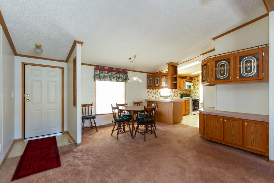 Real Estate Photography - 25752 Scioto St, Monee, IL, 60449 - Dining Room