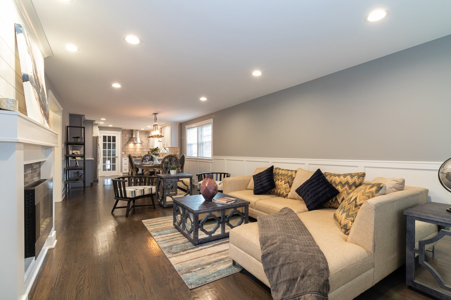 Real Estate Photography - 5229 South Natchez Ave, Chicago, IL, 60638 - Living Room