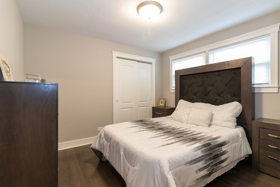 Real Estate Photography - 5229 South Natchez Ave, Chicago, IL, 60638 - Bedroom