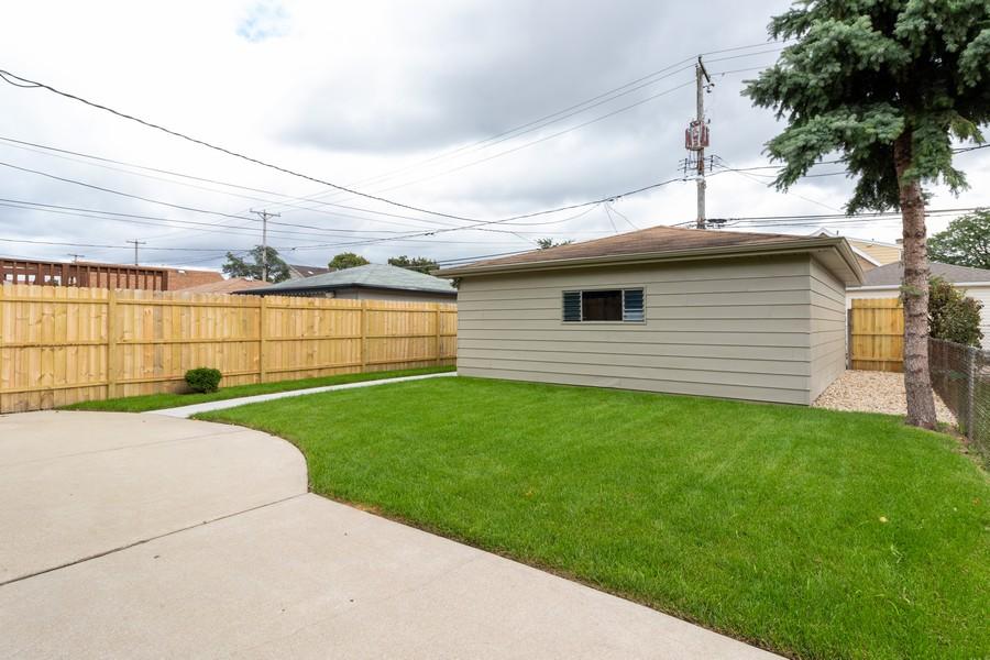 Real Estate Photography - 5229 South Natchez Ave, Chicago, IL, 60638 - Back Yard
